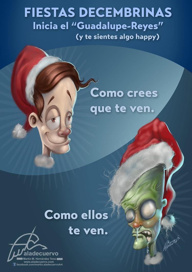 Fiestas de diciembre y by aladecuervo