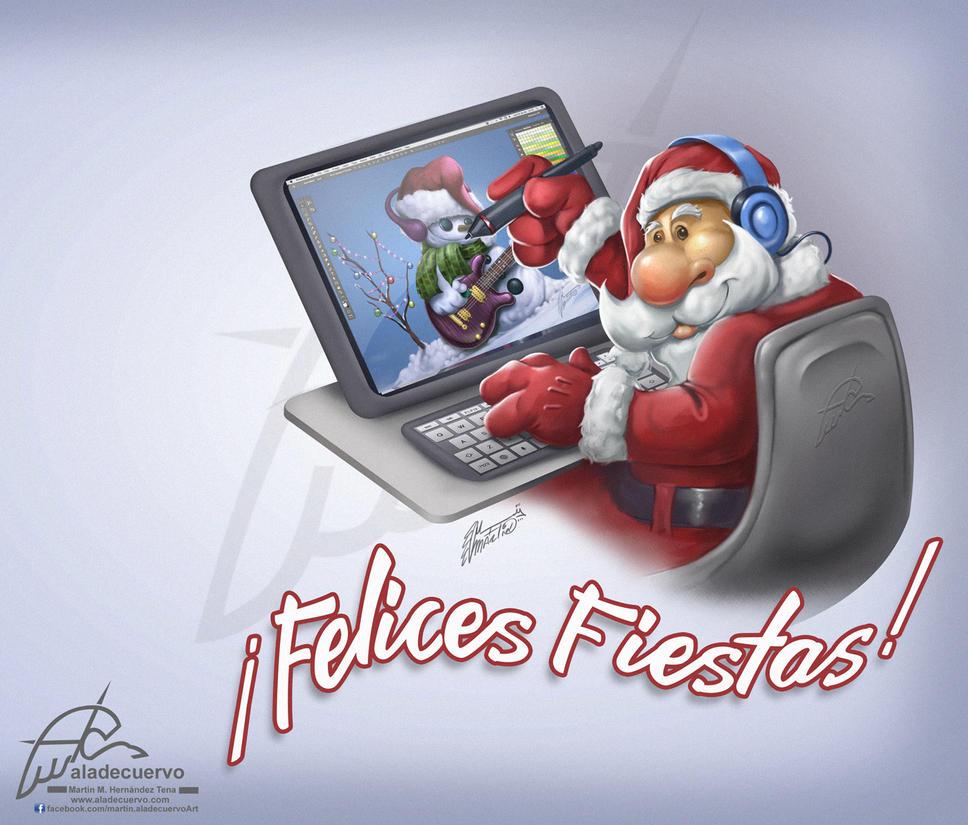 Felices fiestas!! by aladecuervo