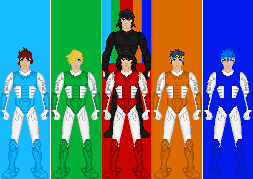 Ronin warriors by guyverunit05 on deviantart - Ronin warriors warlords ...