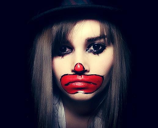 sad clown by mrduf on deviantart