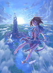 Beyond the horizon by Hisakata50J1