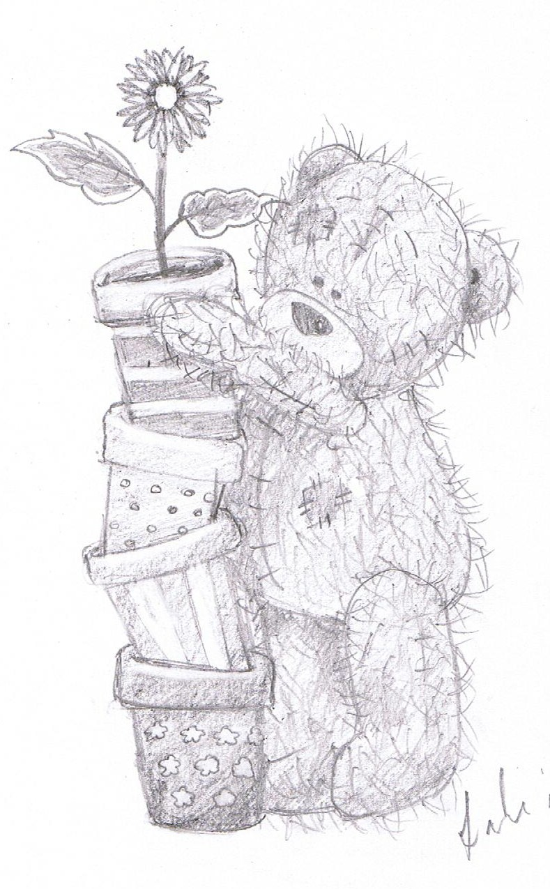 Tatty teddy free coloring pages for Me to u pictures