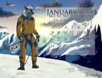 Calendar - January - 2017