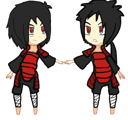 madara uchiha and izuna uchiha by badezx7586 on deviantart
