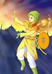 Aya: The Orange Girl? by nrvrl