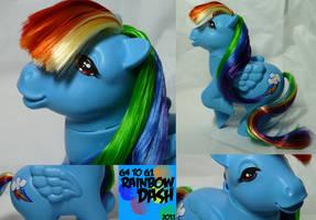 G1 Rainbow Dash by DarlingV