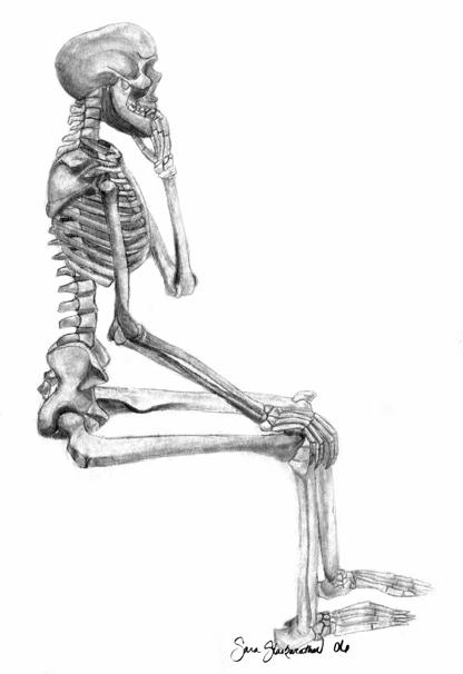 skeleton by sarrara143
