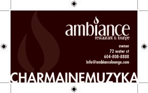 Ambiance Business Card Back by live-without-borders