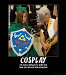 Cosplay Demotivational Poster