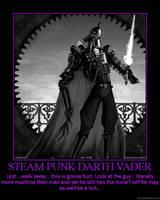 Steam Punk D. Vader by KhaotixDemon