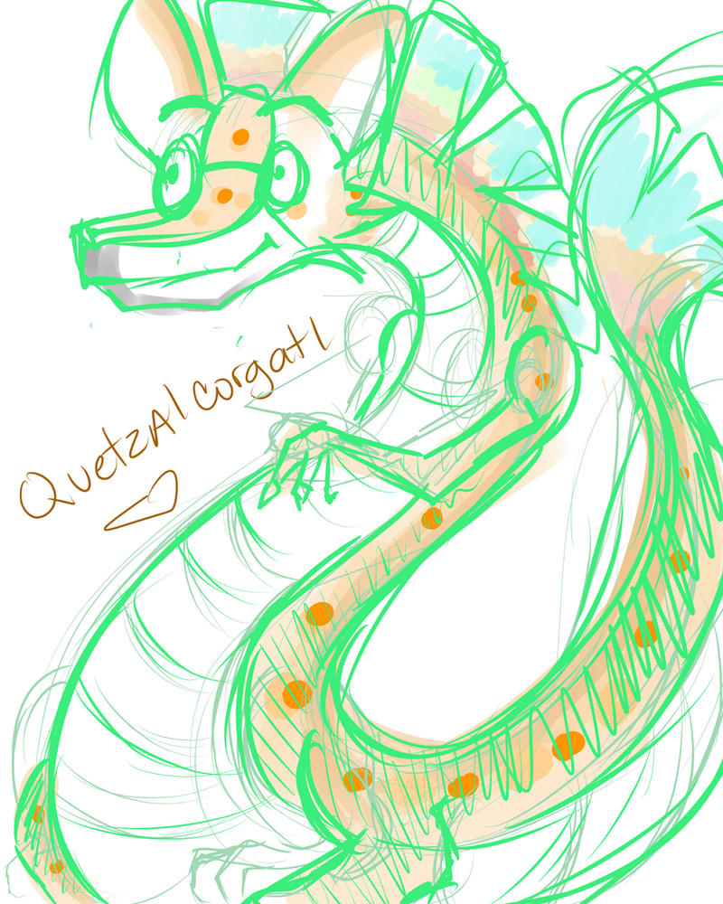 Quetzalcorgatl by Muxical