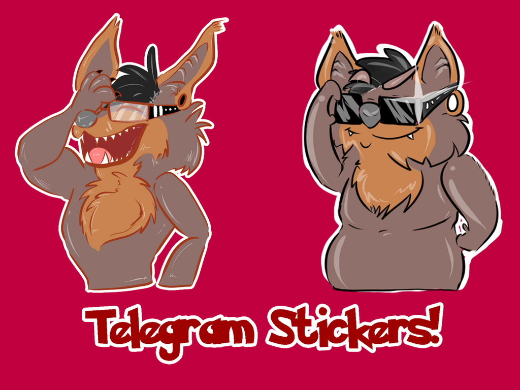 Telegram stickers! by Muxical