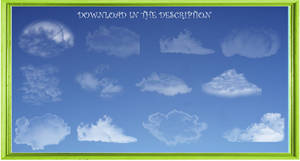 Clouds_BrushesGimpPhotoShopPaintTool