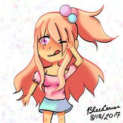 Chibi adopt for StrawberrySurpise by Bleucerise