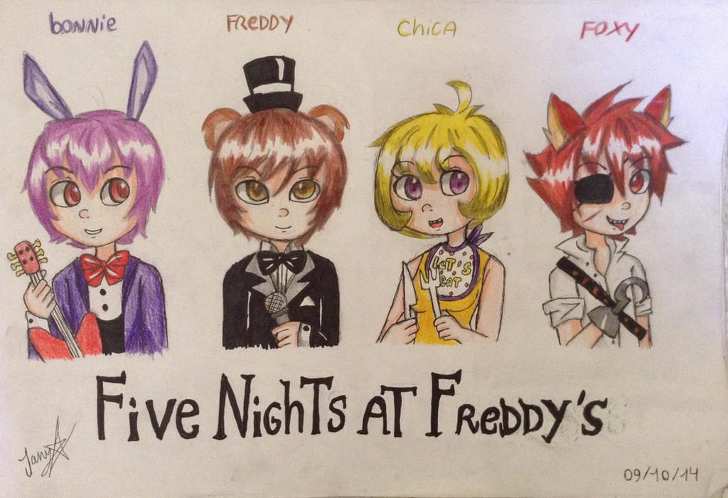 Five nights at freddys anime best apps for android