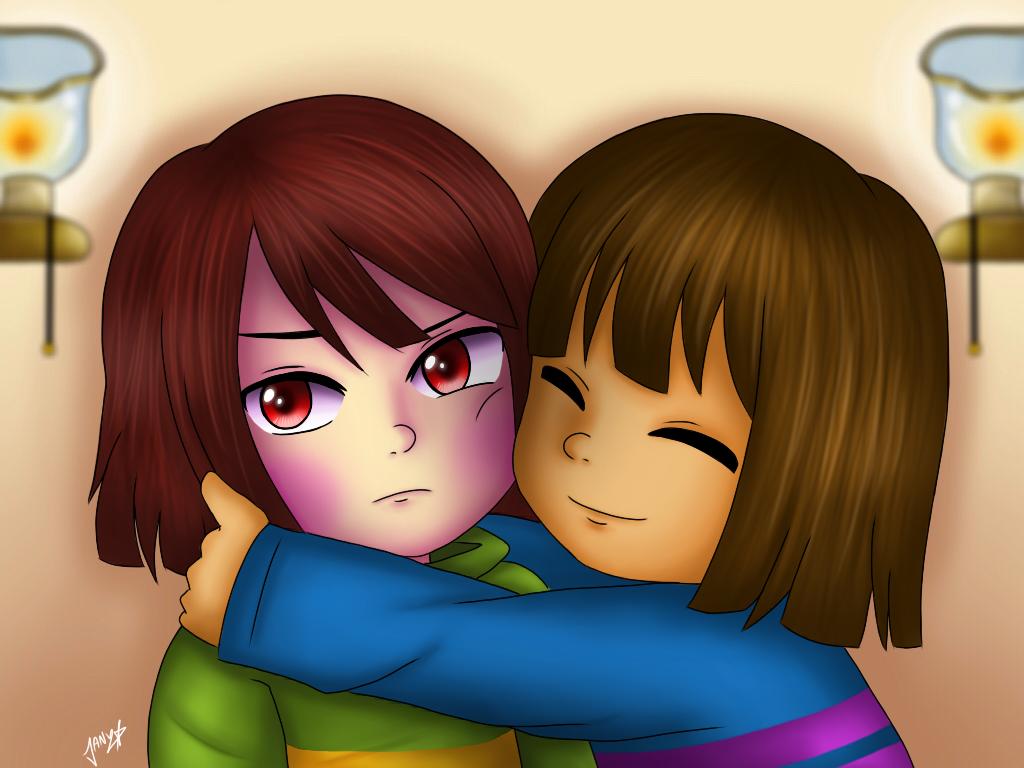 Hugs Chara by Jany-chan17