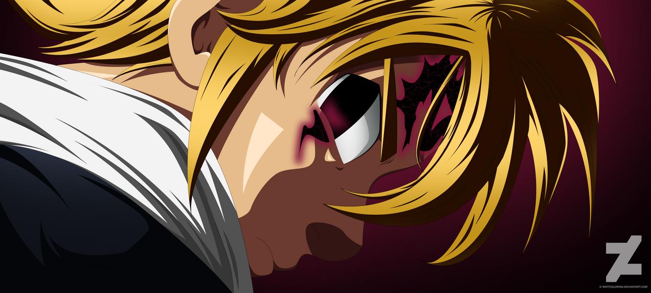 Nanatsu No Taizai Meliodas Demon by MattColoring on DeviantArt