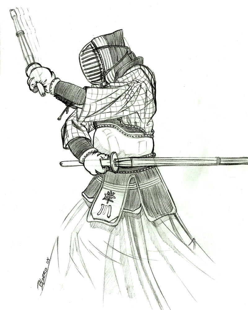 Line Design Art With Mr E : Niten ichi ryu by mr croquis on deviantart