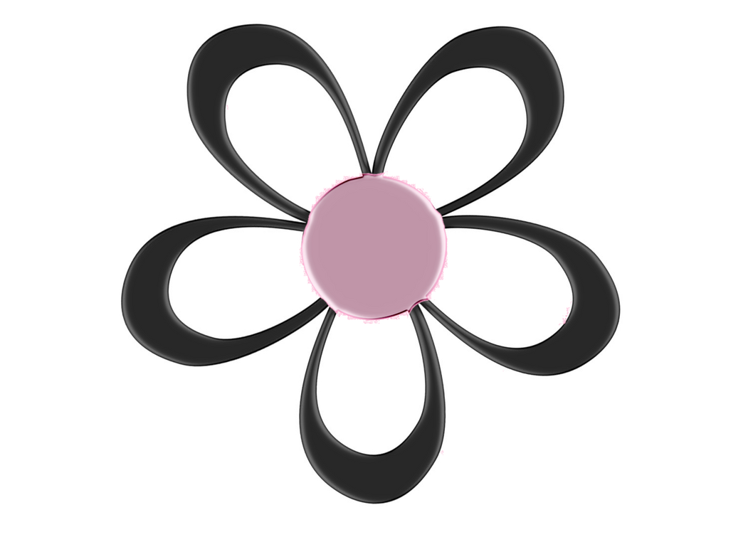 Black And Pink Flower Png By Princessdawn755 On Deviantart