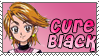 Cure Black Stamp by Princessdawn755