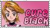 Cure Black Stamp by Princessdawn755