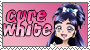 Cure White Stamp by Princessdawn755