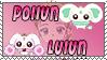 Pollun and Lulun Stamp by Princessdawn755