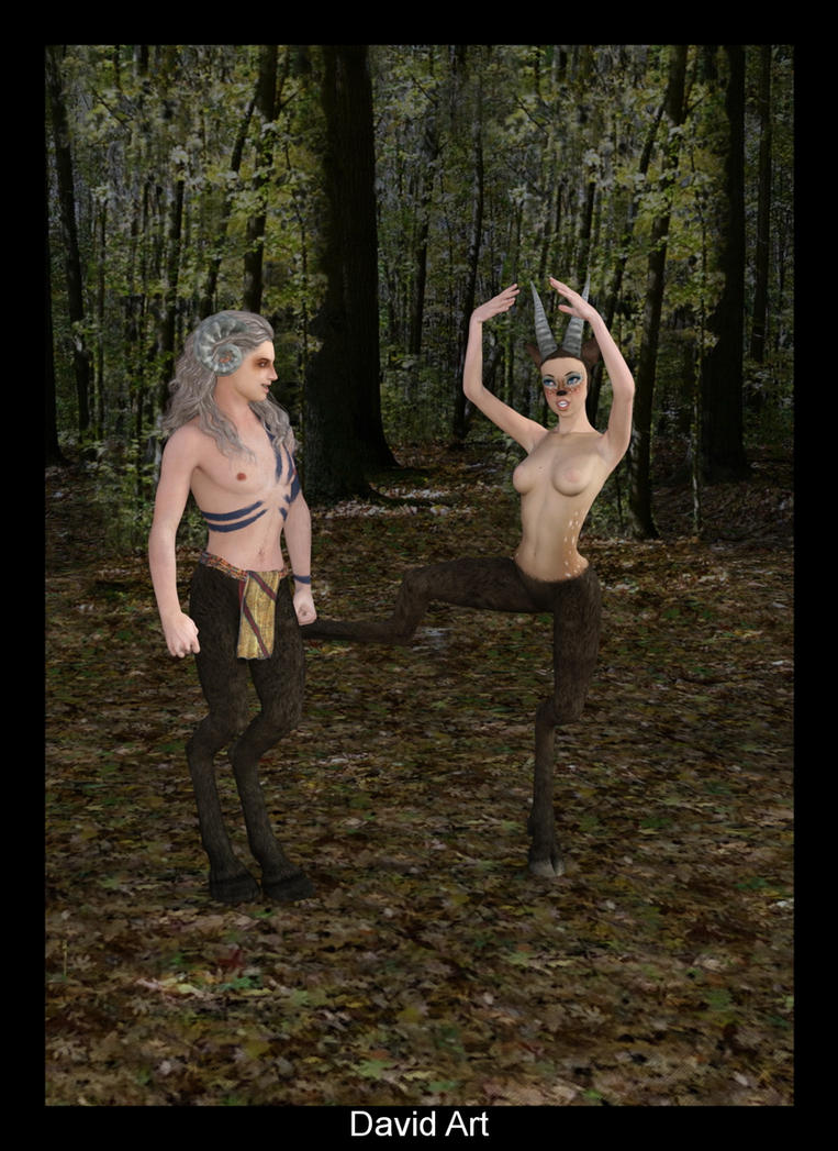 Couple of Faun by beedoll