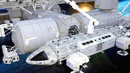 4.102 Eagle 1 C Space Station 2