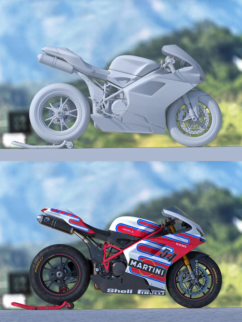 Ducati 1098 by solartaire
