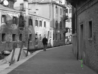 Old Man in Venice by The666Stefan