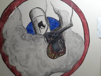 Mural--Progress Picture 2