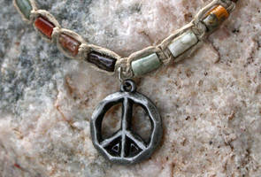 Peace Necklace by clroavieg