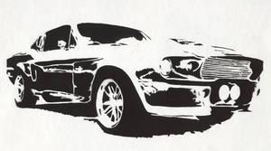 67 Mustang by Ezekiel-25-17