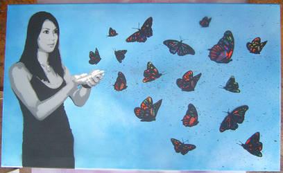 butterflies by Ezekiel-25-17