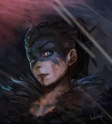 Hellblade: Senua's Sacrifice Fanart by Salaiix