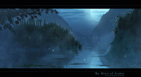 The Mists of Avalon by cosmosue