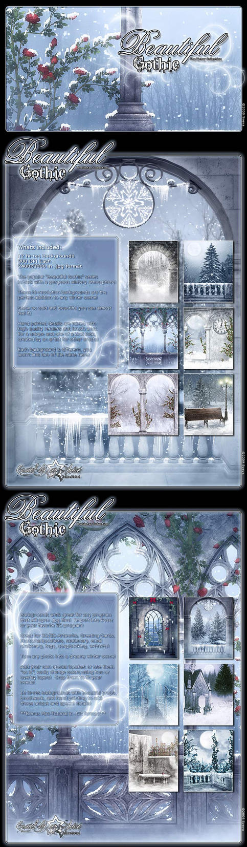 Beautiful Gothic Winter by cosmosue