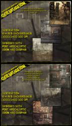 Background Mini Destruction by cosmosue