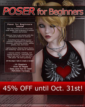 Poser for Beginners SALE