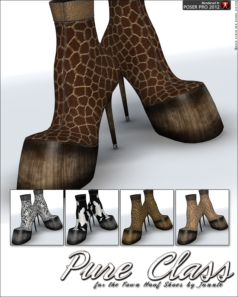 Horse Shoe High Heels