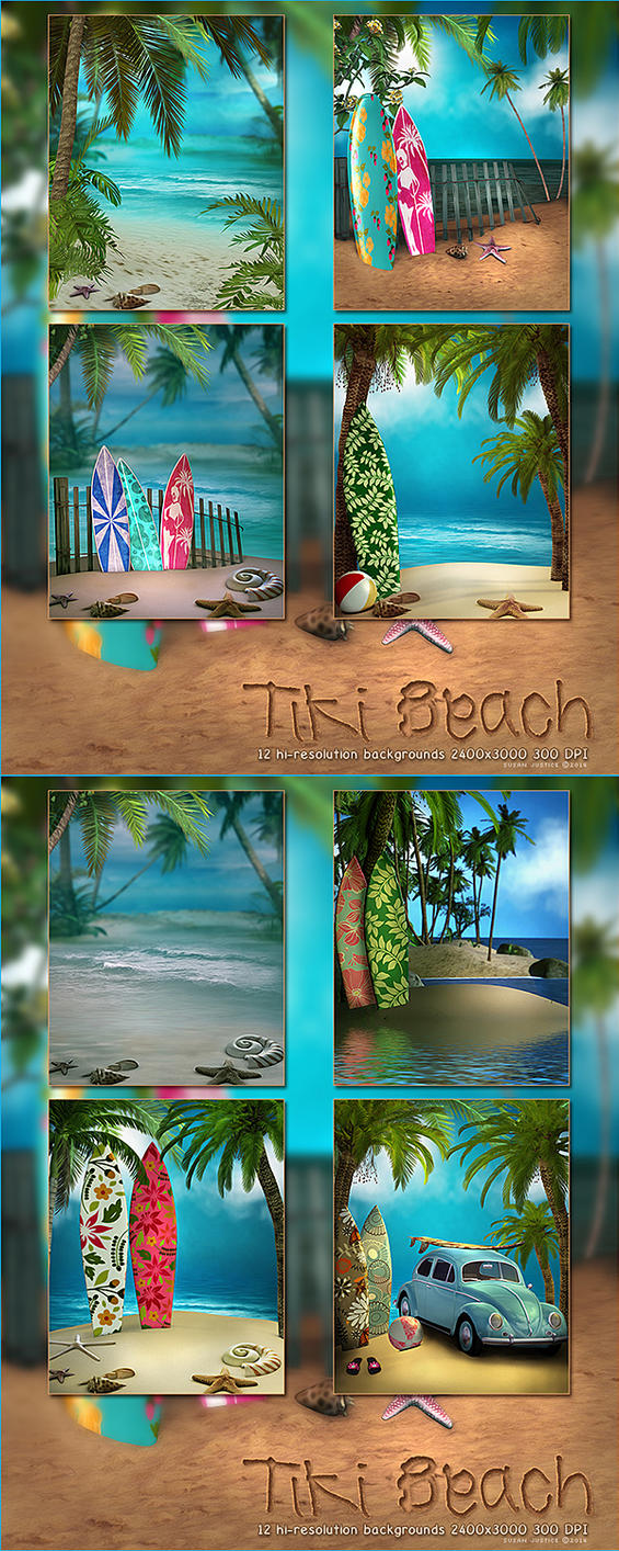 Tiki Beach by cosmosue