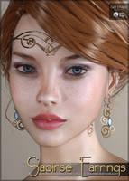 Saoirse Earrings Genesis 3 Females by cosmosue