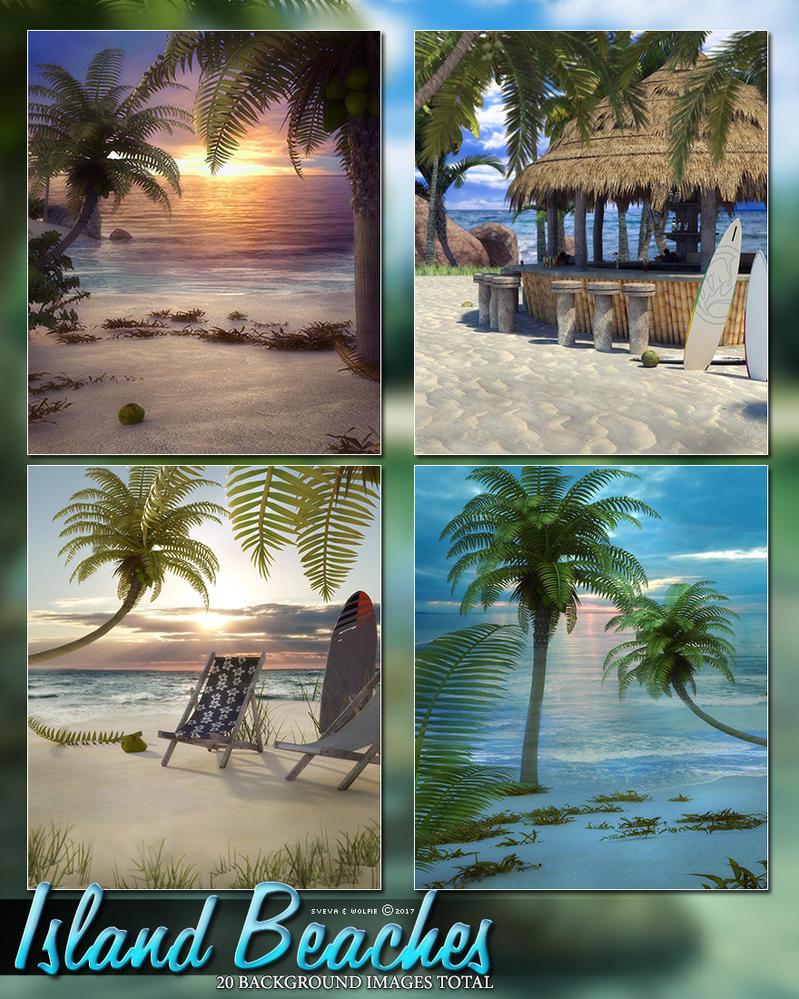 10 island beaches backgroundscosmosue on deviantart