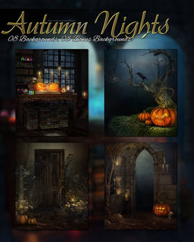 Autumn Nights Backgrounds
