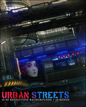 Urban Streets Backgrounds