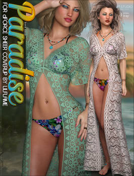 Paradise for dForce Sheer Cover Up G8F