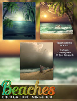 Beaches Background Mini Pack Re-release