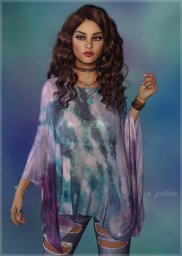 Watercolor Silk 2