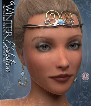 Winter Solstice Jewels for POSER La Femme